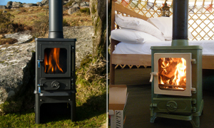 DEFRA Approved Small Multi-Fuel Stove