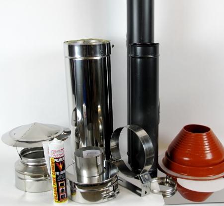 small stove installation kits - hobbit shepherds hut kit