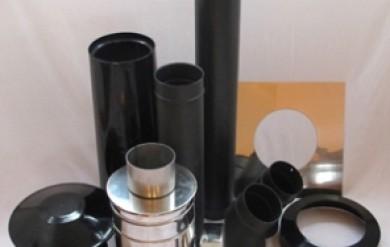 small stove installation kits - hobbit canal boat kit