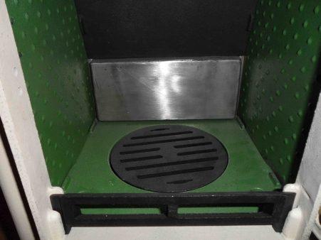 small stove back boiler option