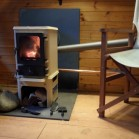 The Hobbit Stove with Back Boiler Option