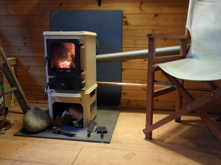 A Stainless Steel Back Boiler For Your Small Wood Burning