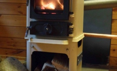 small stove back boiler option