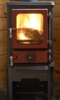 small stove options - hobbit on stand