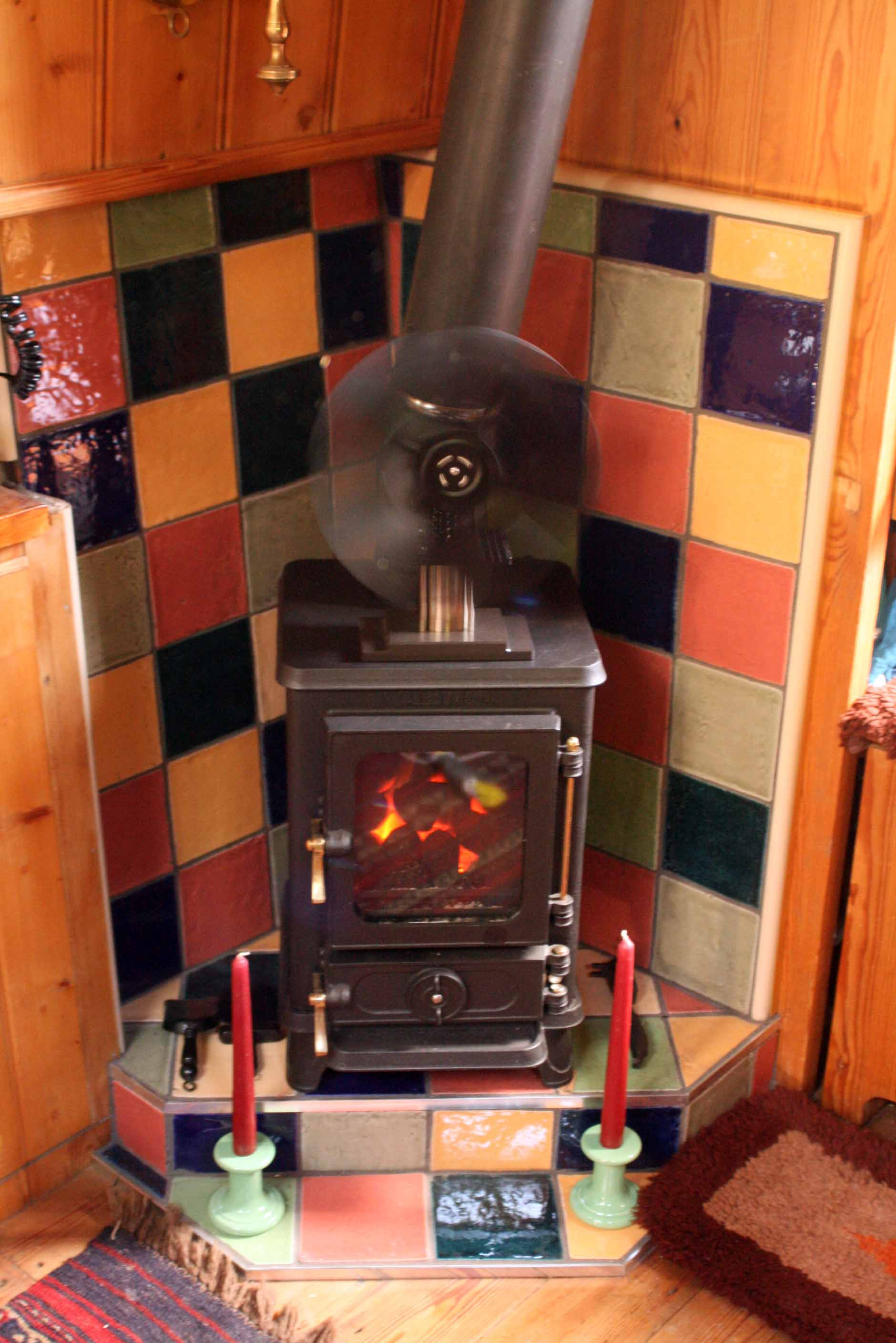 The Hobbit Small Multi Fuel Cast Iron Stove