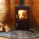 Small stoves shepherds Huts 10