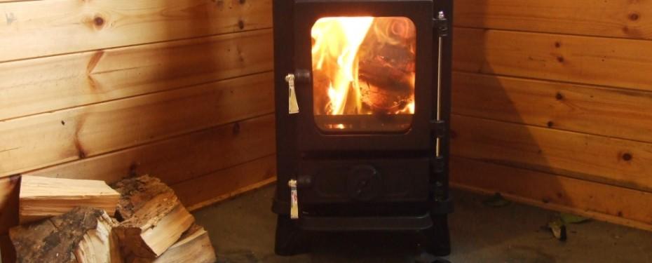 Small stoves shepherds Huts 10