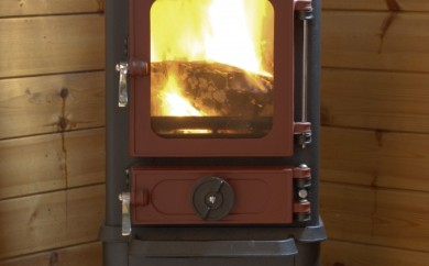 Summer house small woodburning stove hobbit stove