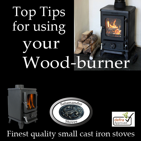 Top Tips for getting the most from your wood burning stove