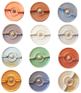 Air Flow Wheel Colour Options for Hobbit Stove