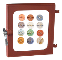 Door Colour Options for Hobbit Stove