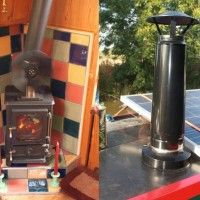 Fitting a small stove into a canal boat - the hobbit stove