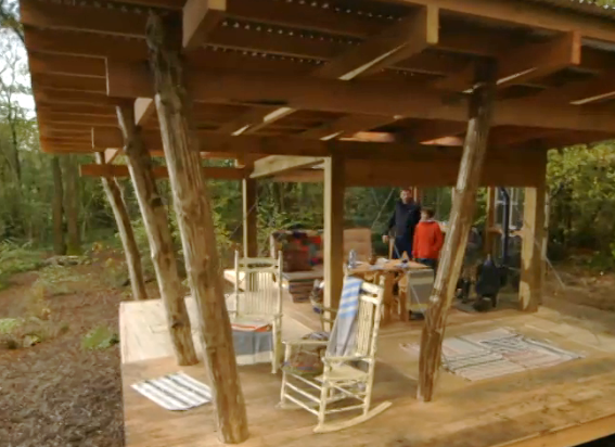 George clarkes amazing spaces using the small hobbit stove - George small spaces collection ...