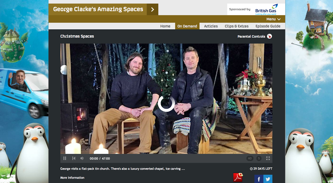 George Clarkes Amazing Spaces using the Small Hobbit Stove