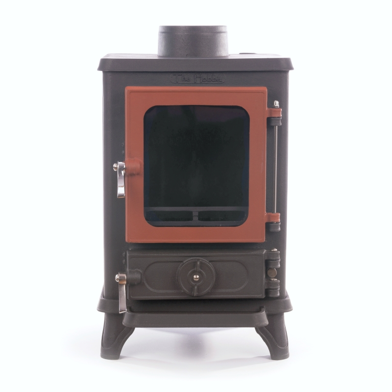 The Hobbit stove - RUSSET - Small Wood Burning Stove - The Hobbit Is The Best Stove For Small