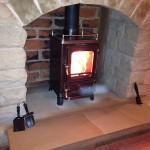 small stove finishes
