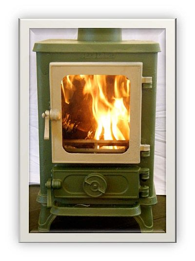 How To Paint Your Small Stove