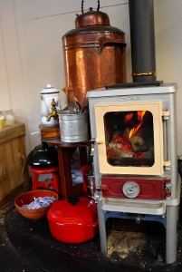 How to colour your stove