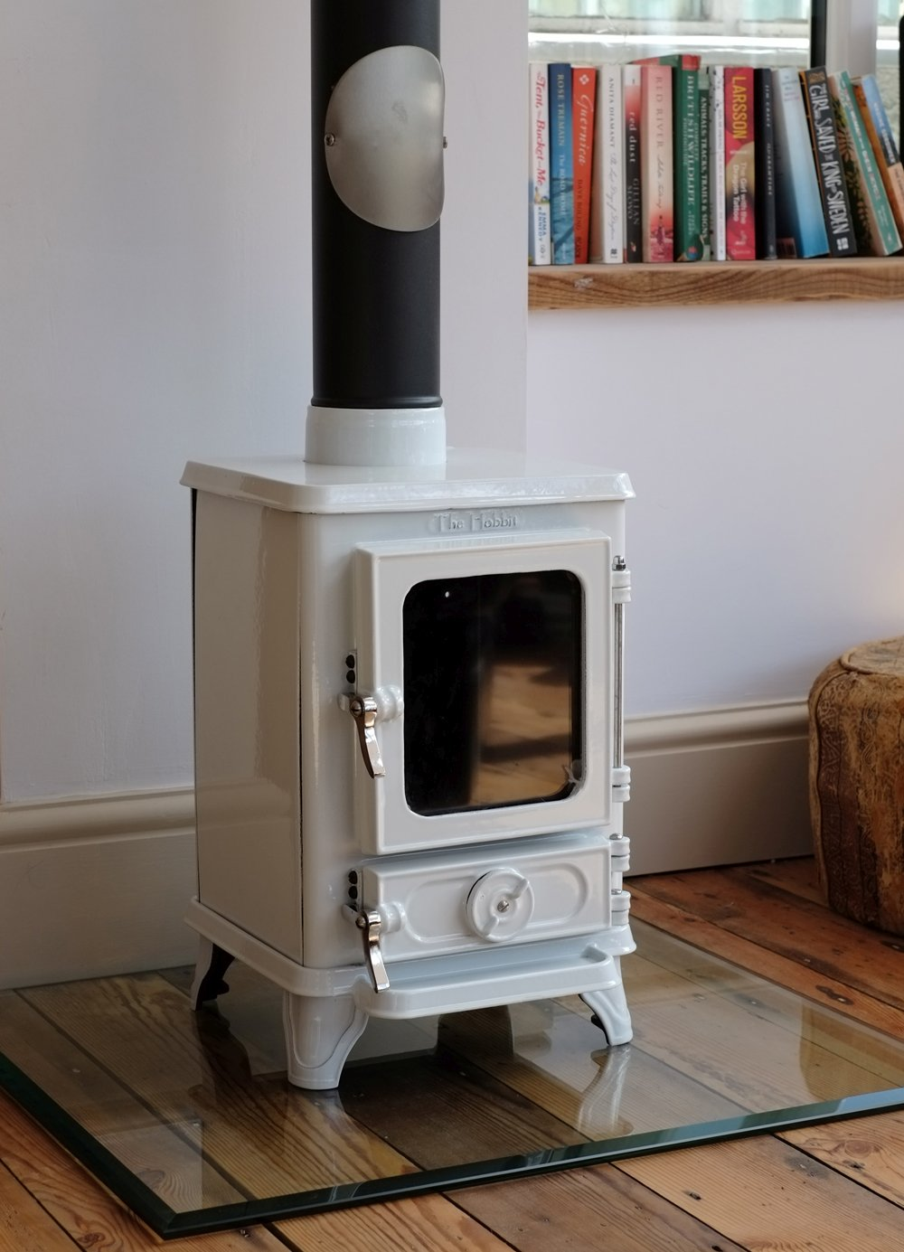 Small Stove On A Gl Hearth