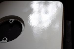 small enamel stoves in ivory white enamel finish