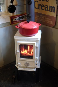 cooking on your wood burning stove