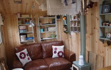 Garden room small space