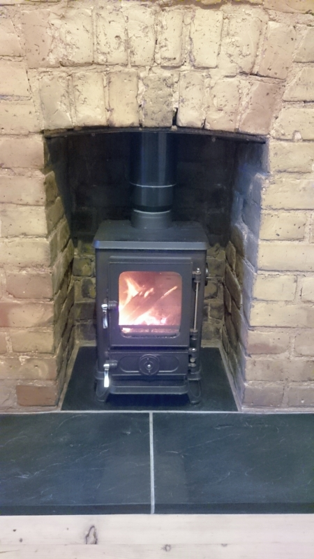 Fitting A Small Woodburning Stove To Existing Fireplace