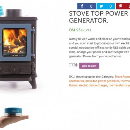 stove top power