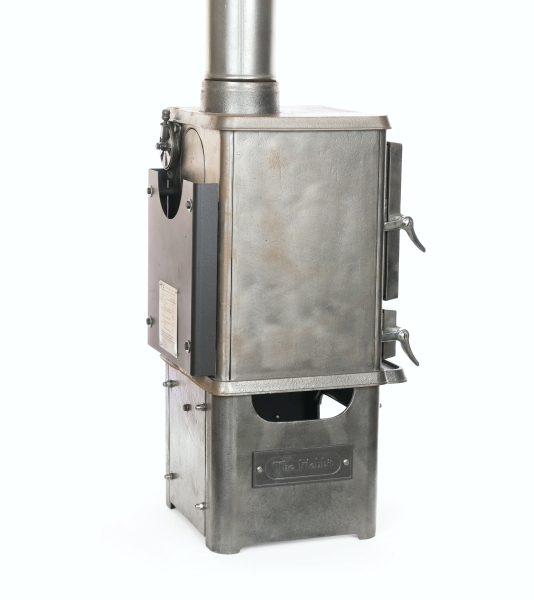 Steam punk small stove finish is now available at for Salamander stoves