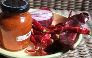 Salamander Stoves Cooking on the Salamander Hobbit - Chilli Sauce