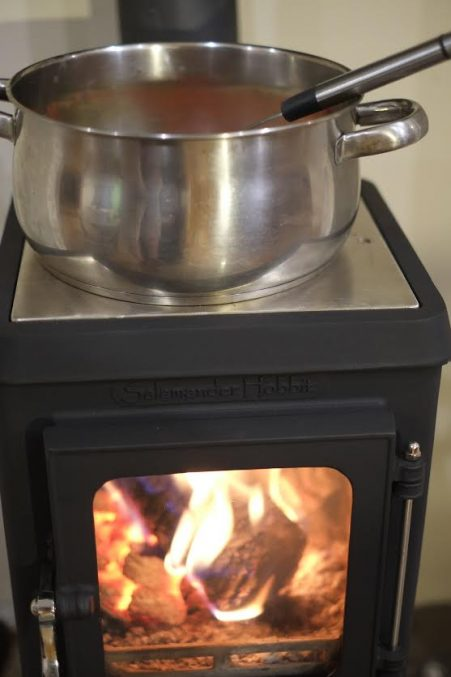 Stainless Steel Cooking Top for the Hobbit Stove