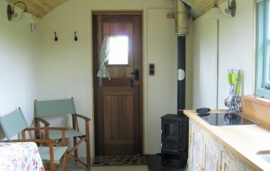 shepherds hut stove