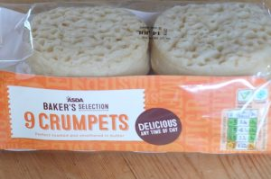 tiny woodstove crumpets
