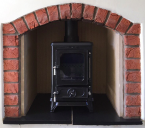 small fireplaces need small stoves too