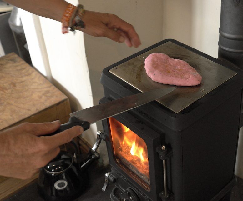 The Small Wood Cook Stove from Salamander Stoves