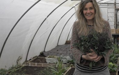 living off grid and growing veg