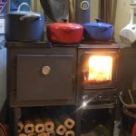 small wood cookstove