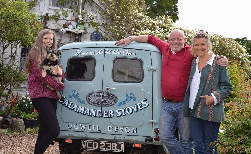 The Team at Salamander Stoves - Tiny Stoves