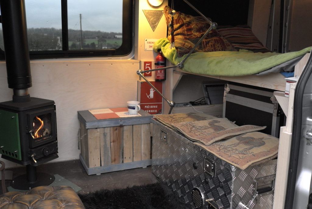small stove for a van