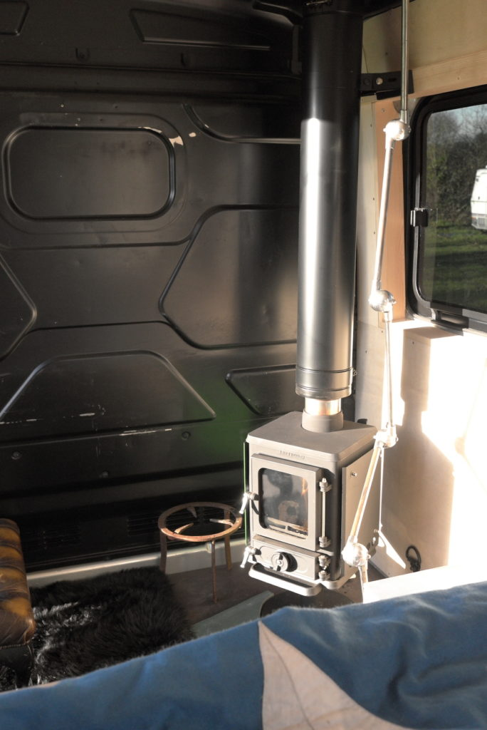 small stove for a camper van