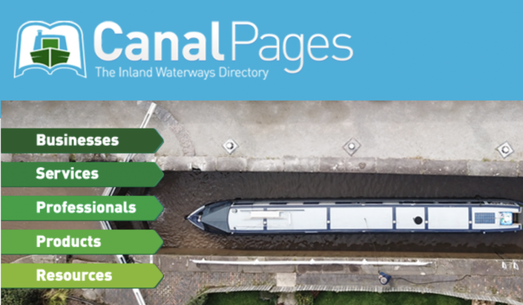 canal boat information and supplies