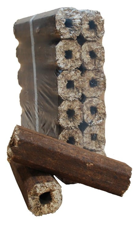 eco logs for small stoves