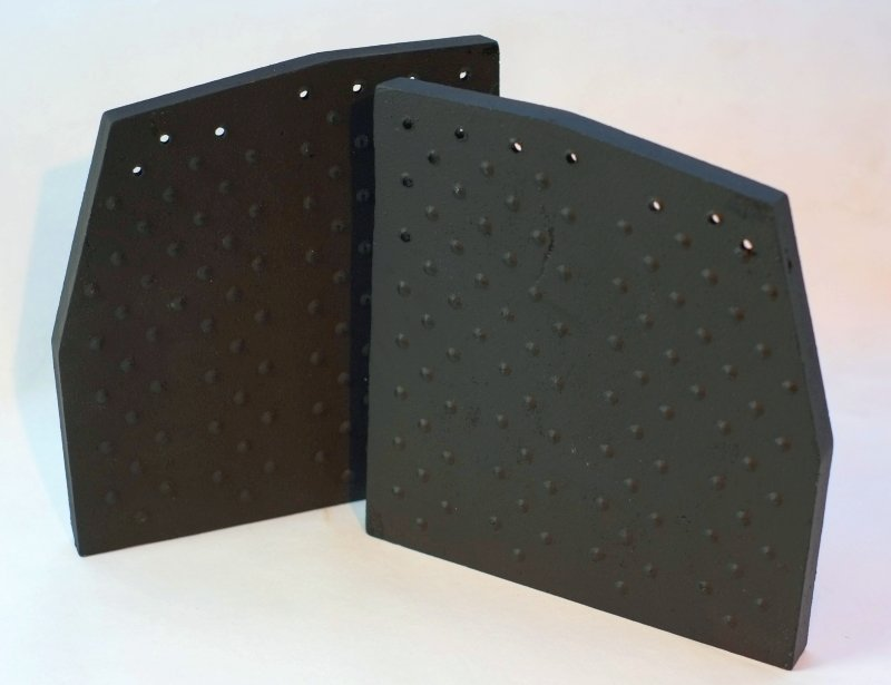 Replacement side fire brick set