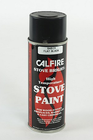 Stove Bright high temperature spray paint (400ml). A high temperature (650 Deg C) fast drying paint for use on stoves