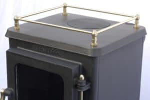 small stove options - hobbit stove with brass gallery rail  small stove options - hobbit stove with brass gallery rail small stove options - hobbit stove with brass gallery rail small stove options - hobbit stove with brass gallery rail and stand 