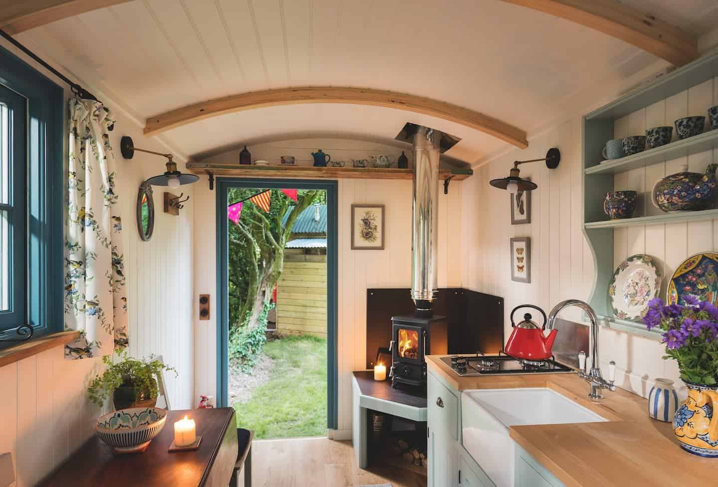 Small Stove in a Shepherd's Hut