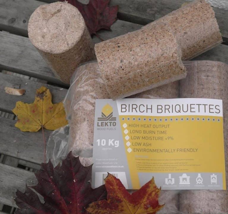 LEKTO BIRCH BRIQUETTES – ONLINE WOOD FUEL REVIEW No.6