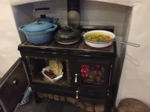 small stove top cooking