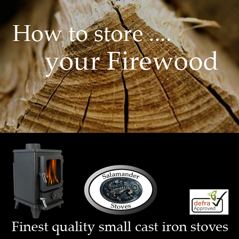 How to store wood for your small wood burning stove