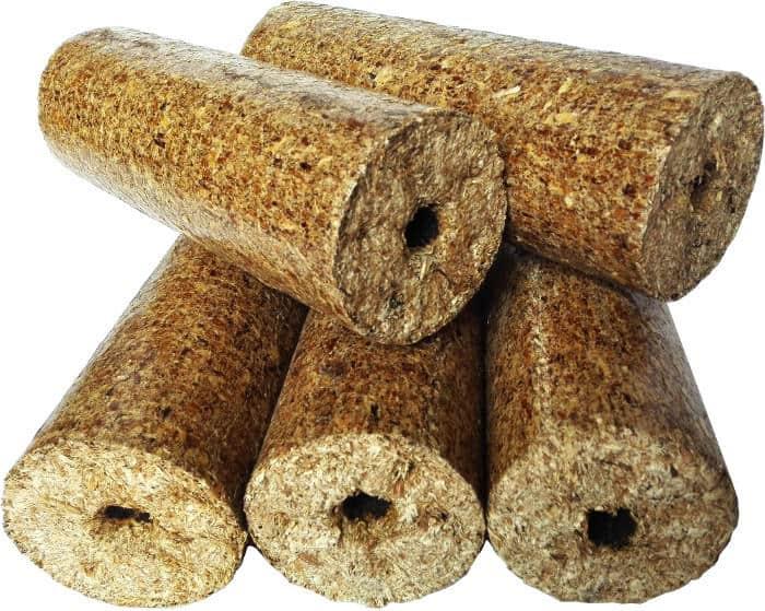 Wood fuel Review No.8 – Nielsen round wood briquettes
